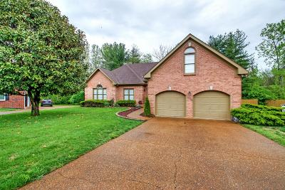 Franklin Single Family Home For Sale: 612 Claridge Ct