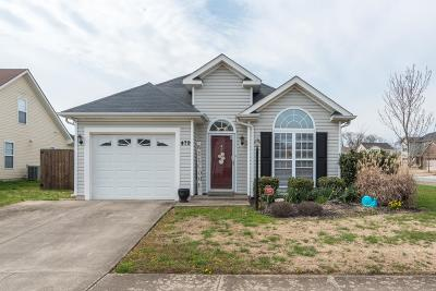 Sumner County Single Family Home Under Contract - Showing: 479 Albion Cir