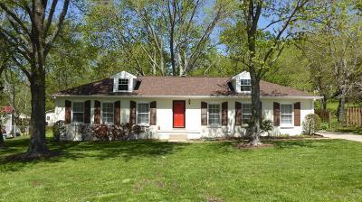 Nashville Single Family Home For Sale: 8025 Arbor Dr