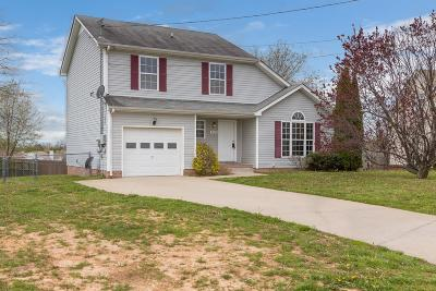 Christian County, Ky, Todd County, Ky, Montgomery County Single Family Home For Sale: 3392 Summerfield Dr