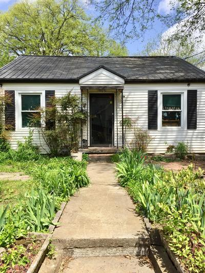 Nashville Single Family Home For Sale: 1903 Electric Ave