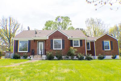 Nashville Single Family Home For Sale: 324 Wimpole Dr