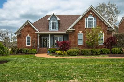 Sumner County Single Family Home For Sale: 1005 Calebs Walk