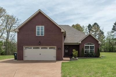 Sumner County Single Family Home Under Contract - Showing: 208 Morgan Trace Ct