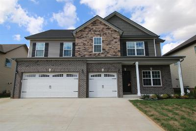 Clarksville TN Single Family Home Under Contract - Showing: $259,900