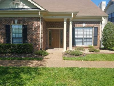 Nashville TN Condo/Townhouse For Sale: $291,500