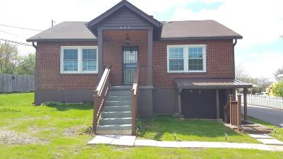 Columbia Single Family Home For Sale: 403 Hatcher Ln