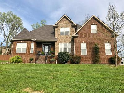 Lavergne Single Family Home Under Contract - Not Showing: 4004 Cherish Hope Ct