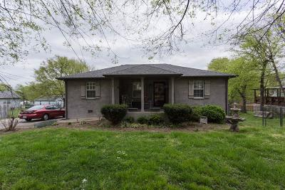 Nashville Single Family Home For Sale: 532 Elaine Ave