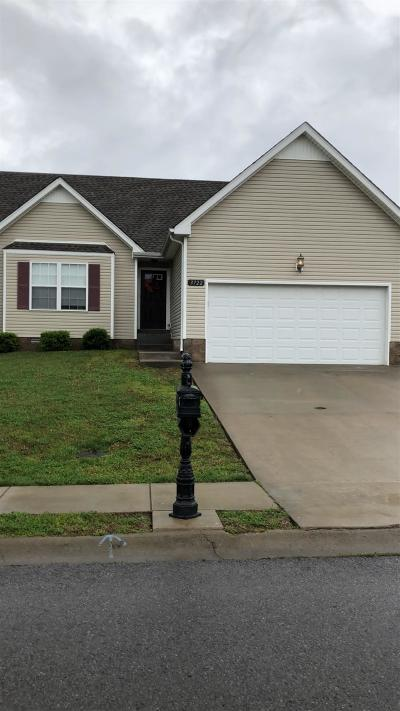Clarksville Rental For Rent: 3722 Gray Fox Drive