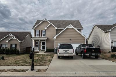 Clarksville Rental For Rent: 3706 Gray Fox Drive