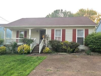 Davidson County Single Family Home For Sale: 564 Heritage Ln