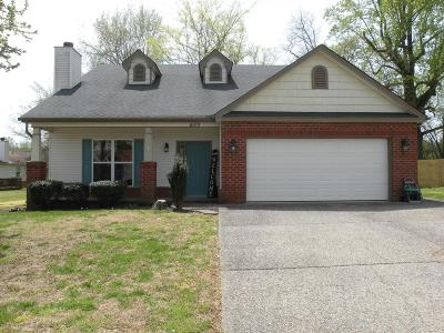 Robertson County Single Family Home For Sale: 422 W W Winterberry