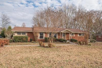 Rutherford County Single Family Home For Sale: 1119 Walton Dr