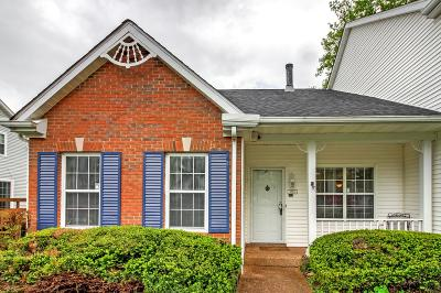 Franklin Condo/Townhouse Under Contract - Not Showing: 1215 Carriage Park Dr