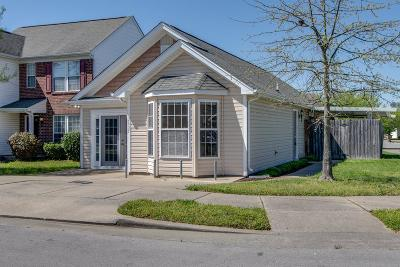 Nashville Single Family Home For Sale: 2637 River Meade Way