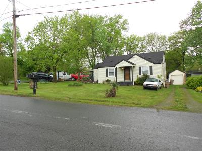 Nashville Single Family Home For Sale: 2723 Live Oak Road