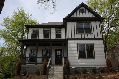 Nashville Single Family Home For Sale: 325 Chamberlin St