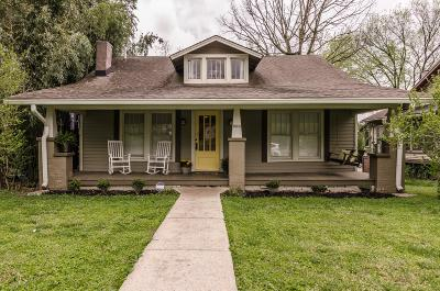 Nashville Single Family Home For Sale: 1020 Seymour Ave