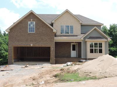 Clarksville Single Family Home Under Contract - Not Showing: 141 Robin Lynn Hills