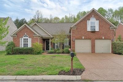 Wilson County Single Family Home Under Contract - Showing: 232 Cobblestone Lndg