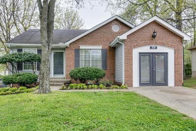 Nashville Single Family Home For Sale: 274 Paragon Mills Rd