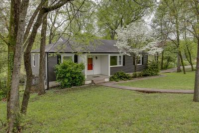 Davidson County Single Family Home For Sale: 2902 Mashburn Dr
