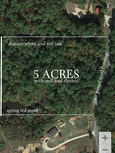 Camden Residential Lots & Land For Sale: 999 Clifford Hicks Rd