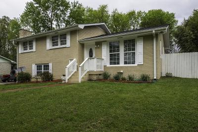 Nashville Single Family Home For Sale: 808 Currey Rd