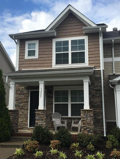 Davidson County Condo/Townhouse For Sale: 1227 Riverbrook Dr