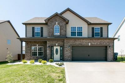 Clarksville Single Family Home Under Contract - Showing: 1974 Sunset Meadows Way