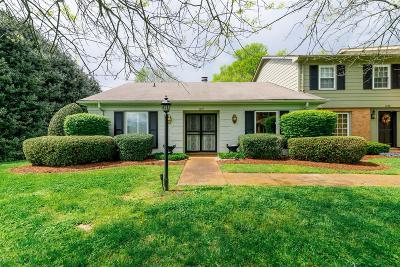 Davidson County Condo/Townhouse For Sale: 1027 Todd Preis Drive #1027