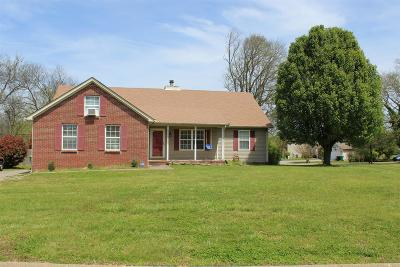 Maury County Single Family Home For Sale: 3730 Jay Lane