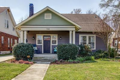 Nashville Single Family Home For Sale: 948 Maxwell Ave