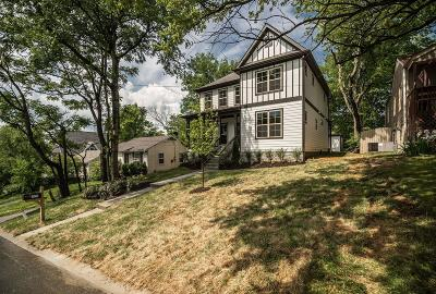 Nashville Single Family Home Active - Showing: 325 Chamberlin St