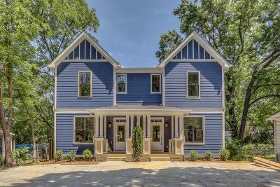 Nashville Single Family Home For Sale: 327 A Duke St