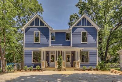 Nashville Single Family Home For Sale: 327 B Duke St