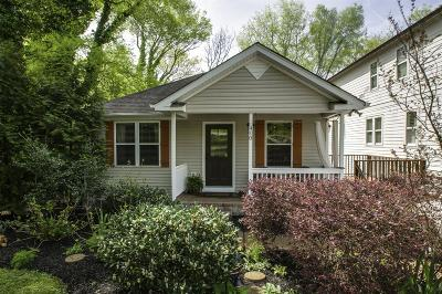 Davidson County Single Family Home For Sale: 410 S 15th St