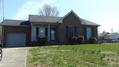 Clarksville TN Single Family Home For Sale: $92,500