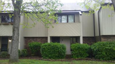 Davidson County Condo/Townhouse For Sale: 124 Saddle Tree Ct #124