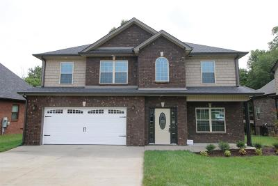 Clarksville TN Single Family Home For Sale: $279,900