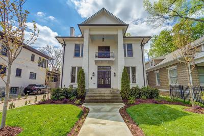 Nashville Single Family Home Active - Showing: 2213 Belmont Blvd
