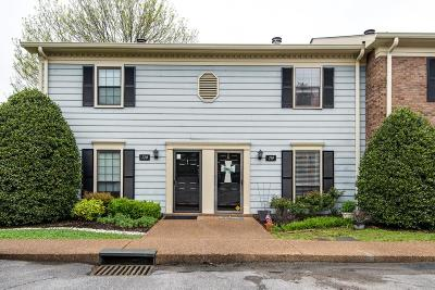 Brentwood Condo/Townhouse Under Contract - Not Showing: 719 Fox Ridge Dr