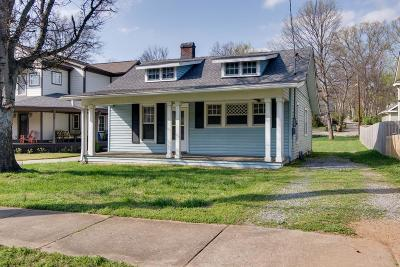 Sylvan Park Single Family Home For Sale: 3708 Murphy Rd