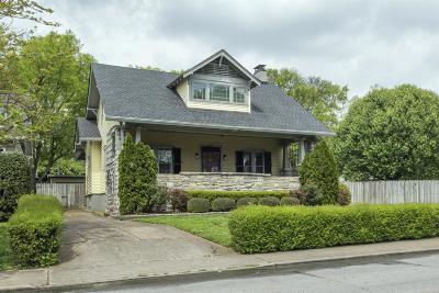 Single Family Home For Sale: 2224 Blair Blvd