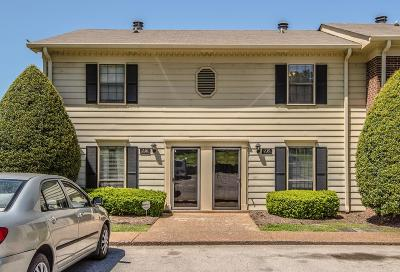 Brentwood  Condo/Townhouse Under Contract - Not Showing: 735 Fox Ridge Dr