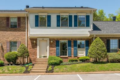 Brentwood Condo/Townhouse Under Contract - Not Showing: 510 Brentwood Pt