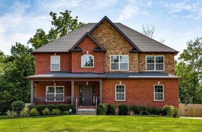 Clarksville TN Single Family Home Under Contract - Not Showing: $265,000