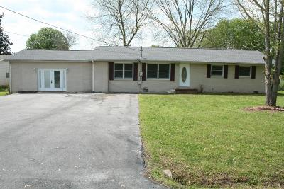 Manchester TN Single Family Home For Sale: $158,900