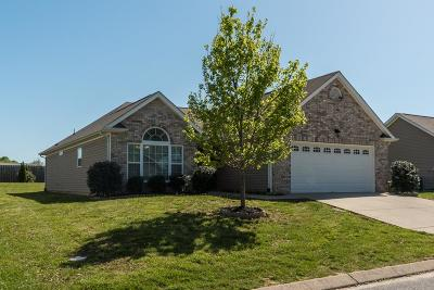 White House Single Family Home Under Contract - Showing: 107 Blossom Ct